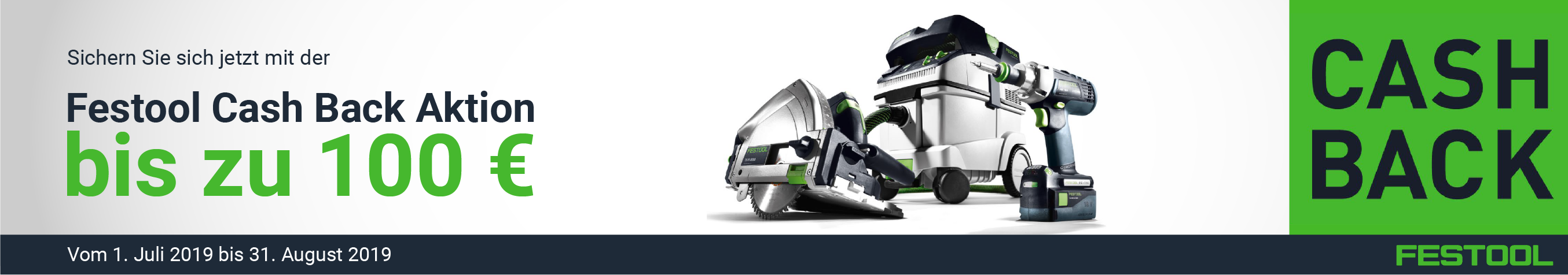 Festool Cashback Aktion